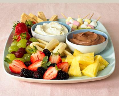 Easy Fruit Dips