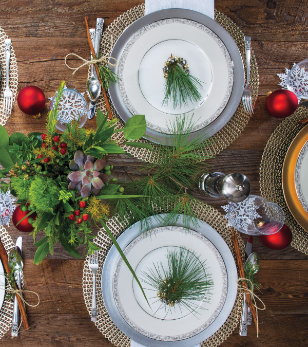 Freshen Up Your Holiday Table Décor
