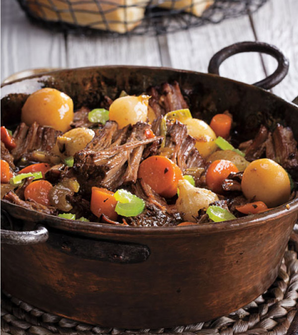 4-Ingredient Slow Cooker Pot Roast