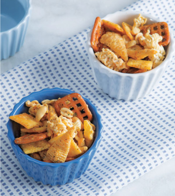 Buffalo-Ranch Snack Mix