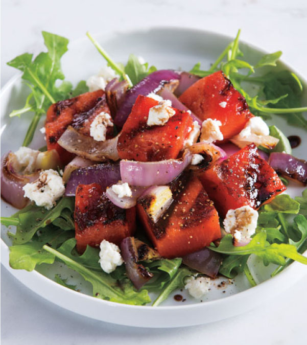 Grilled Watermelon Salad