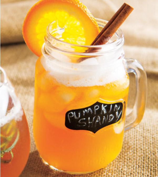 Pumpkin Shandy