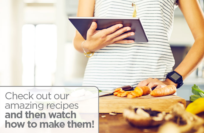 Watch how to make our amazing recipes