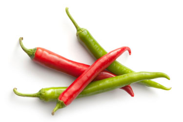 Summer Produce - Chile Peppers