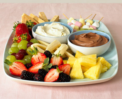 Easy Fruit Dips