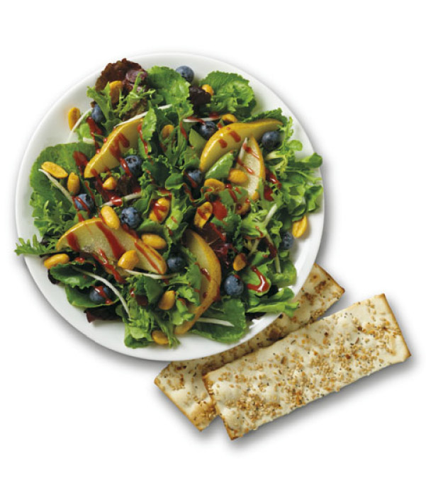 Blueberry and Roasted Pear Fusion Salad