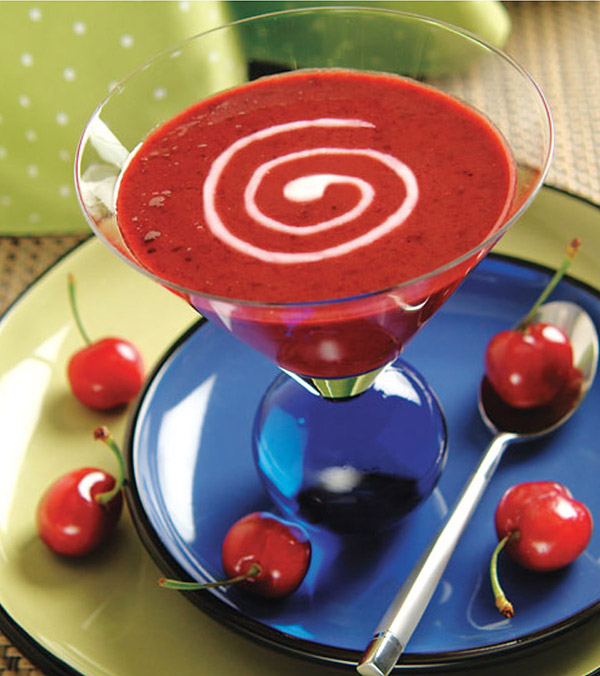 Chilled Cherry Dessert