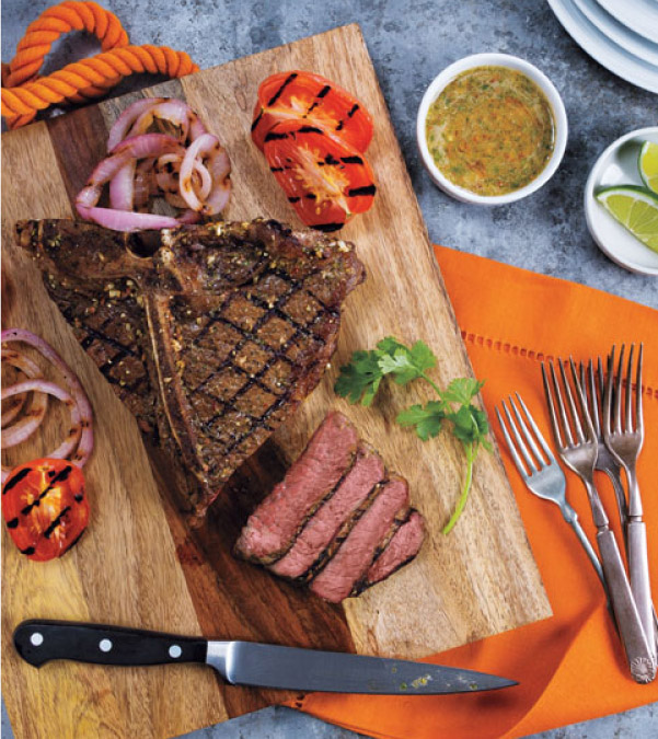Chipotle-Lime T-Bone Steak