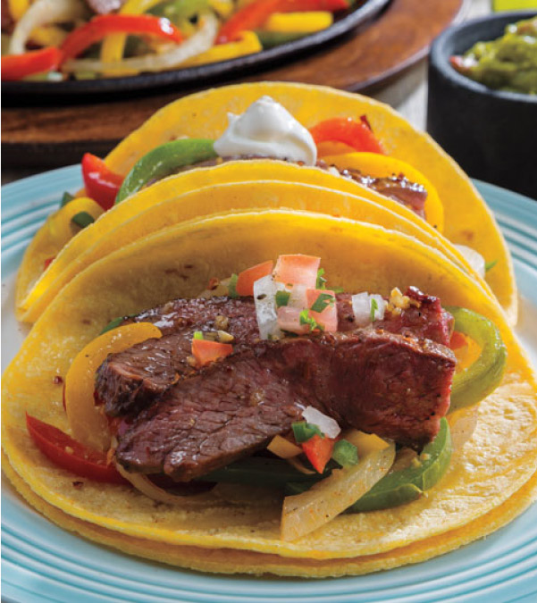 Sheet Tray Chile-Lime Steak Fajitas