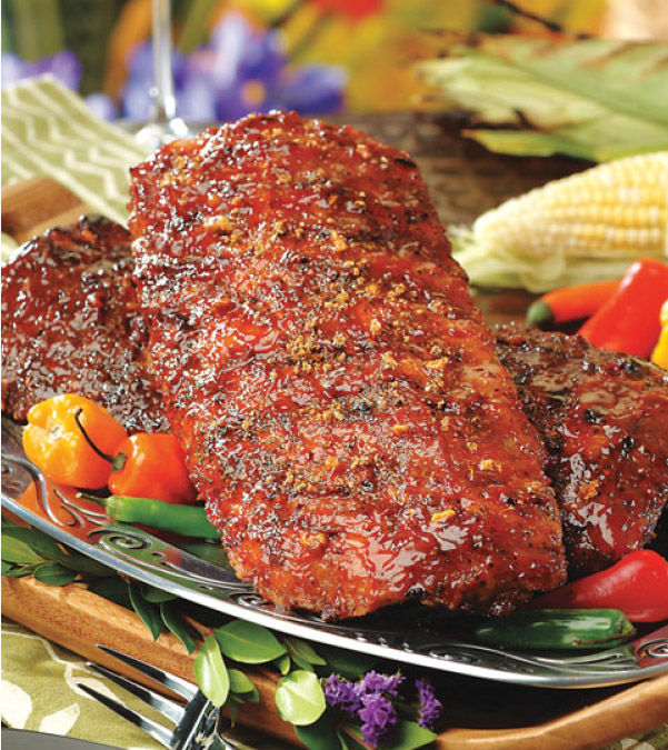 Southwest Baby Back Ribs with Chipotle BBQ Sauce